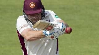 Northants batsman Adam Rossington