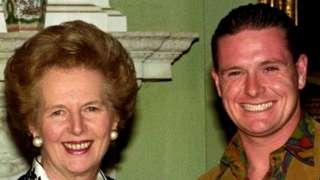 Margaret Thatcher and Paul Gascoigne