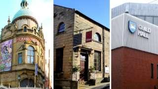 Grand Theatre, Dukes Playhouse and Preston Guild Hall