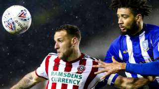 Michael Hector challenges Billy Sharp