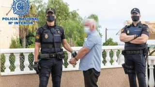 John Gilligan taken into custody by Spanish police