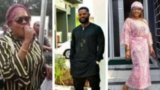 Aworan Iyabo Ojo,Falz ati Toyin Abraham