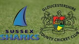Sussex v Gloucestershire badges
