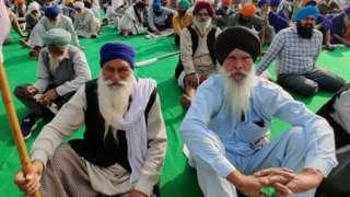किसान आंदोलन में शामिल किसान