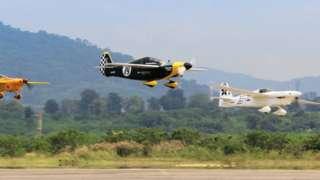 Air Race 1 action shot