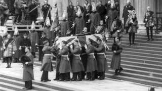 Churchill's funeral