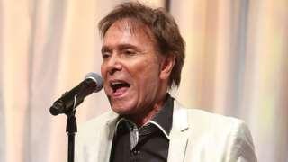 Cliff Richard singing