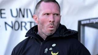 Oxford United boss Michael Appleton