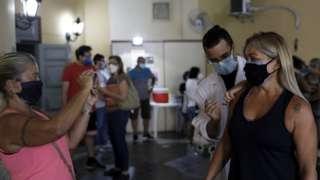 Вакцинация от коронавируса в Рио-де-Жанейро