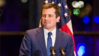 Pete Buttigieg announces he is withdrawing from the Democratic Party White House nomination race, 2 March 2020