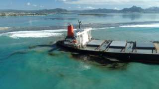 Why did the ship run aground towards a lagoon is not clear yet