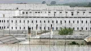 Une prison près de Kenitra au Maroc.