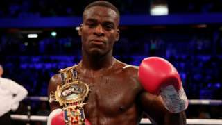 British light-heavyweight champion Joshua Buatsi