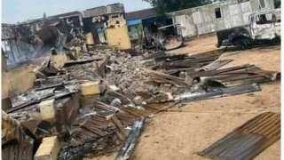 """Unknown gunmen"" latest attacks on Nigeria Police"