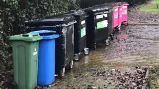 bins in Milton Keynes