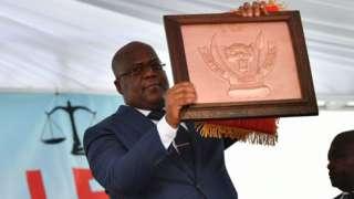 Bwana Tshisekedi arahira kuwa kane tariki nk'iyi umwaka ushize
