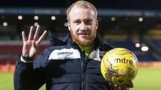 Ross Country striker Liam Boyce