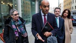Independent Group MPs outside the Electoral Commission
