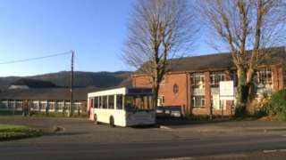 Photo of the current secondary school