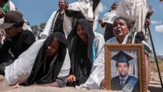 Human rights groups say thousands have been killed in the fighting in Tigray