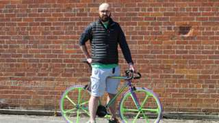 Andrew Hassard of Mango Bikes in Ballyclare, Northern Ireland