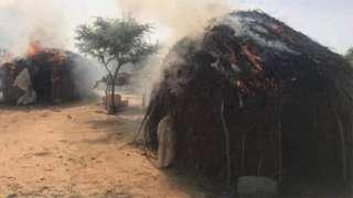 Gunmen burn di villages of Randa and Malele for Zamfara