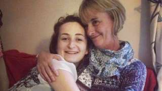 Aimee and her mother Louise