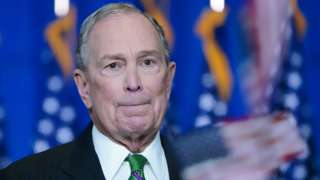 Mike Bloomberg ends his campaign for president in Manhattan