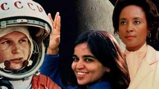 Valentina Tereshkova, Kalpana Chawla ve Annie Jean Easley'nin isimleri Ay'daki kraterlere verildi