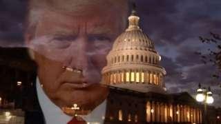 트럼프 대통령과 백악관