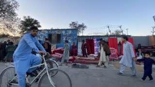 مشهد من العاصمة الأفغانية كابل في 17 سبتمبر/ أيلول 2021 بعد سيطرة طالبان