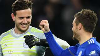 Danny Ward and Jamie Vardy