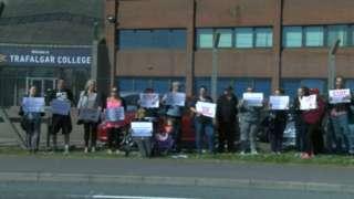 Academy protest