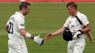 Durham pair Mark Stoneman and Scott Borthwick