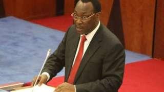 Mwenyekiti wa chama kikuu cha upinzani Tanzania, CHADEMA , bwana Freeman Mbowe
