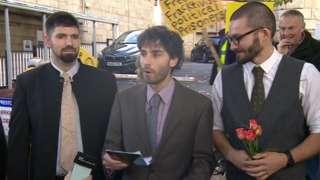 Simon-Blevins, Rich Loizou and Richard Roberts