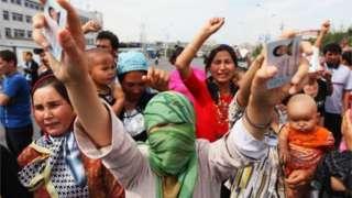 Người Duy Ngô Nhĩ biểu tình năm 2009