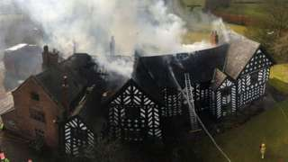 The fire at Haslington House
