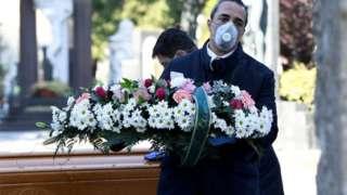 အီတလီမှာ ကိုရိုနာ နဲ့ သေဆုံးသူ ၃၀၀ ကျော် ရှီပြီ