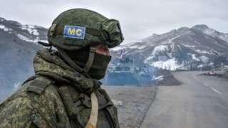 Российский миротворец в Карабахе