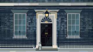 Illustration of 10 Downing Street