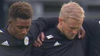 Leicester team observe silence