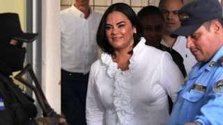MFormer first lady of Honduras, Rosa Elena Bonilla