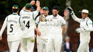 Wayne Parnell took four wickets against his former county side Sussex