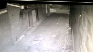 CCTV image of hit-and-run