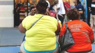 लठ्ठ महिला