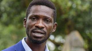 Ugandan presidential candidate Robert Kyagulanyi Ssentamu
