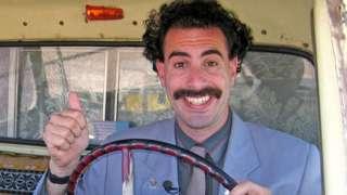 Saša Baron Koen u ulozi Borata