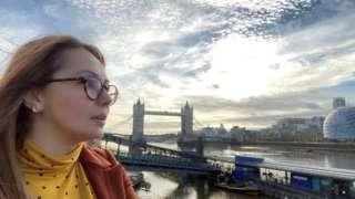 Image shows Tyurkyan in London