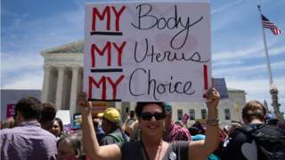 Abortionrights activist gathered outside the U.S. Supreme Court to protest against the recent abortion laws passed across the country in recent weeks. Tuesday, May 21, 2019. Washington, D.C
